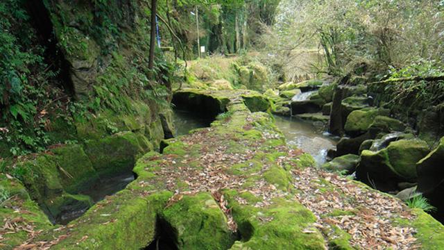 関吉の疏水溝