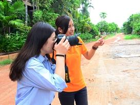 【関空発】カンボジア フリーペーパー出版インターンシップ体験6日間<一人旅応援♪追加代金不要!!> ご出発45日前までの早期申込み特典あり♪