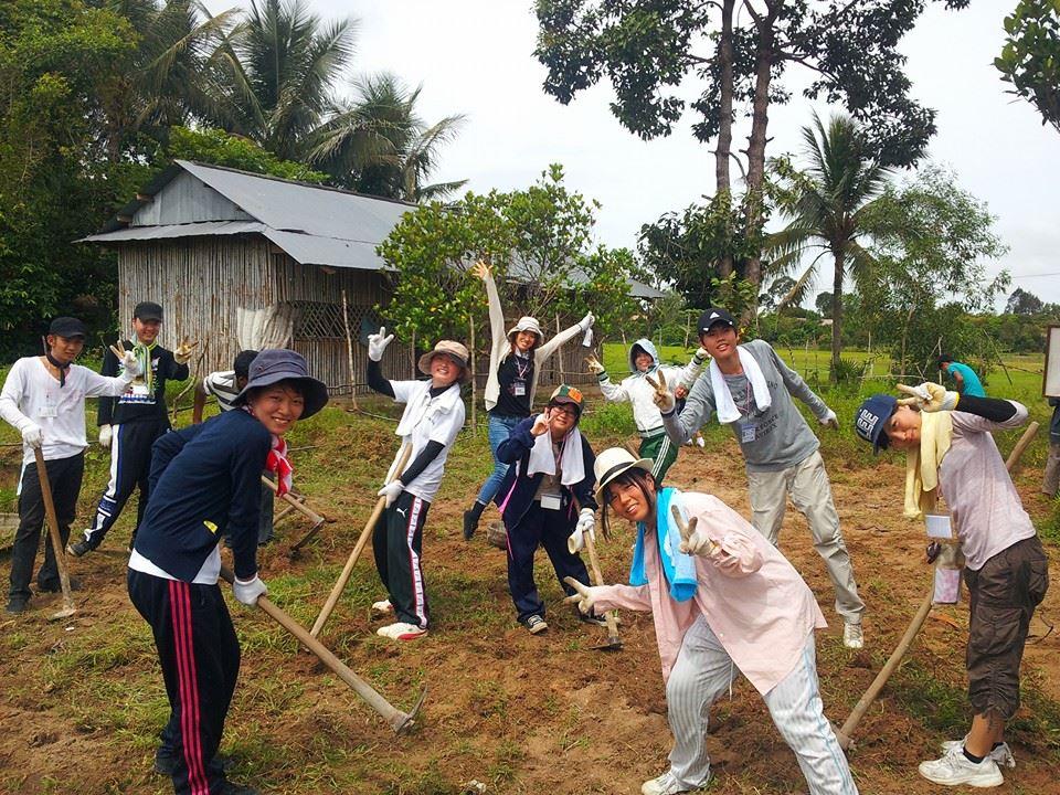 【関空発】カンボジア 村の自立を支援する活動6日間♪♪早期申込み特典♪♪ ご出発45日前までにお申込みされた方は5,000円引き!