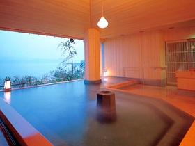 日本の宿のと楽 露天風呂