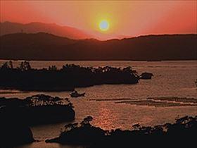 松島湾(夕景)